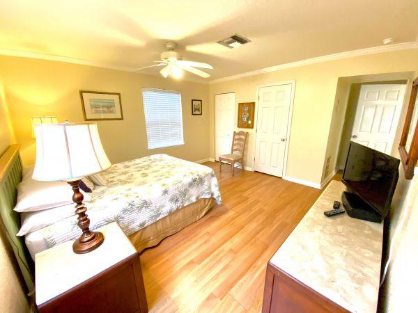 Bed room of villa