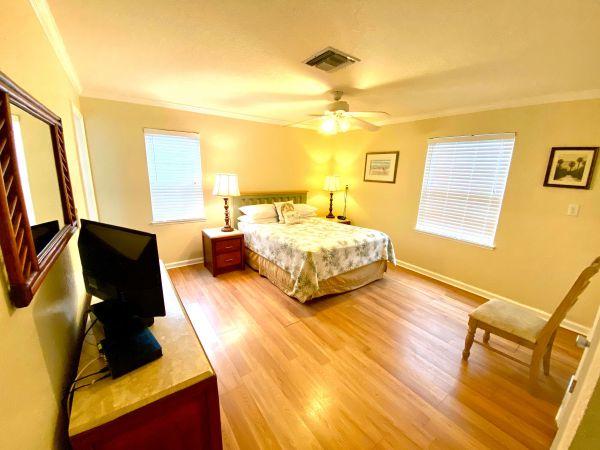 Bed room in villa