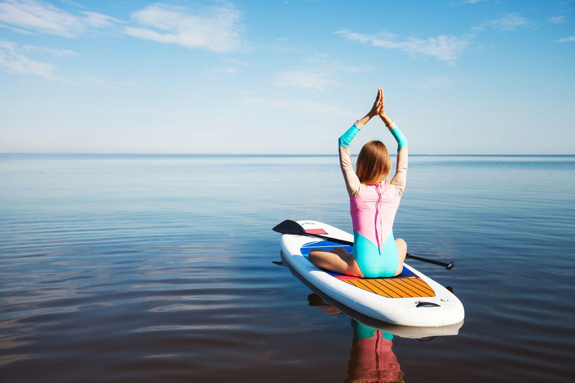 Paddleboard Yoga - solo