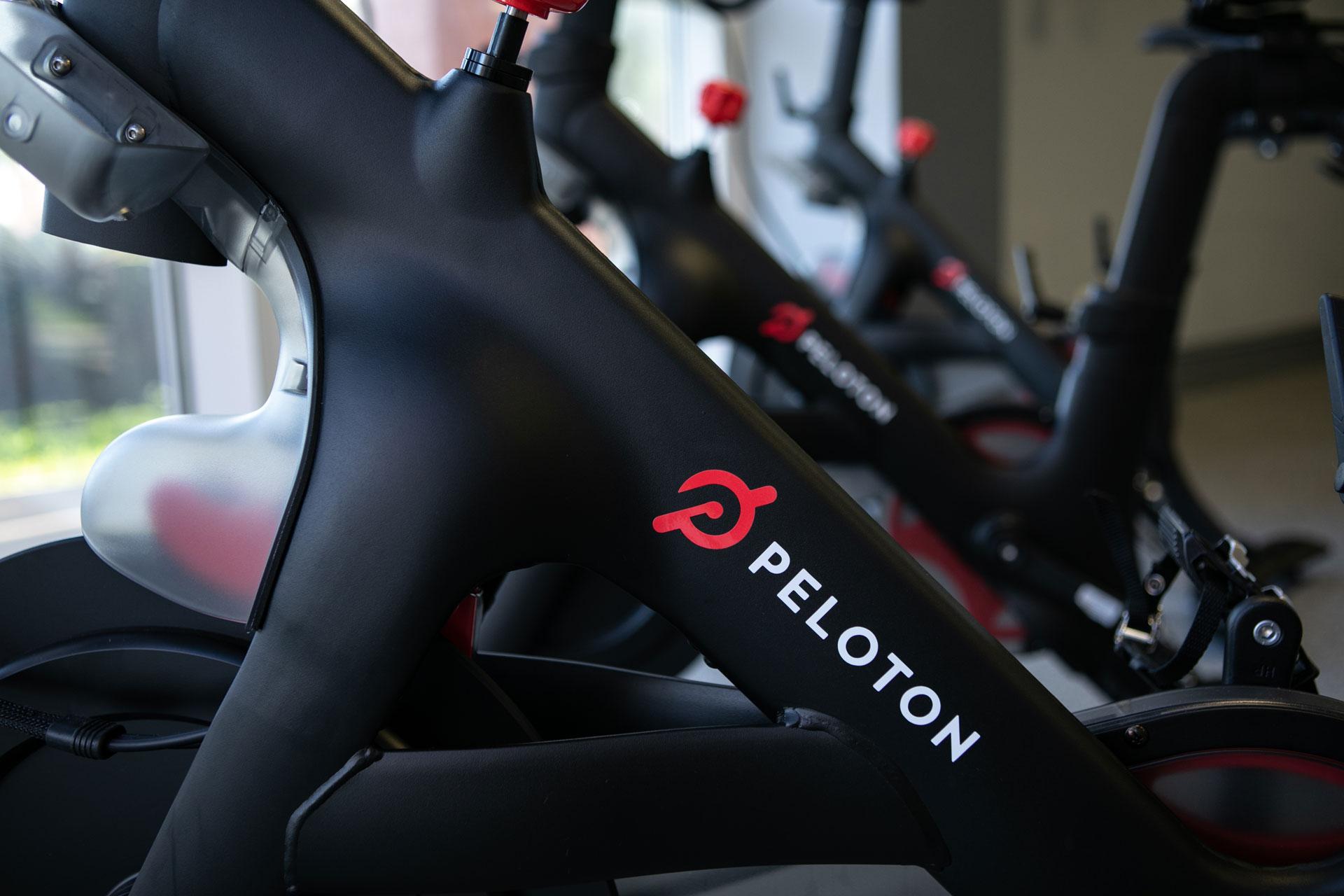 Peloton bikes