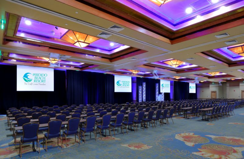 Grand Ballroom at perdido beach resort for meetings and events