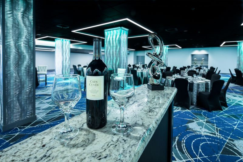 Elegant venue space at Perdido Beach Resort