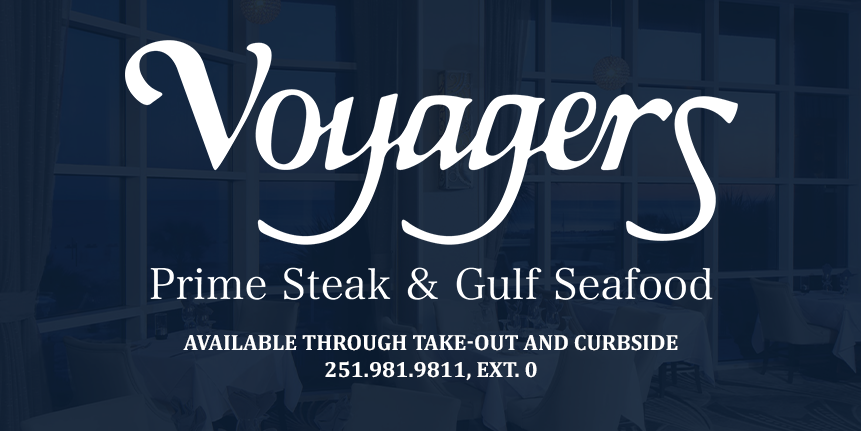 Voyagers Available Take Out and Curbside