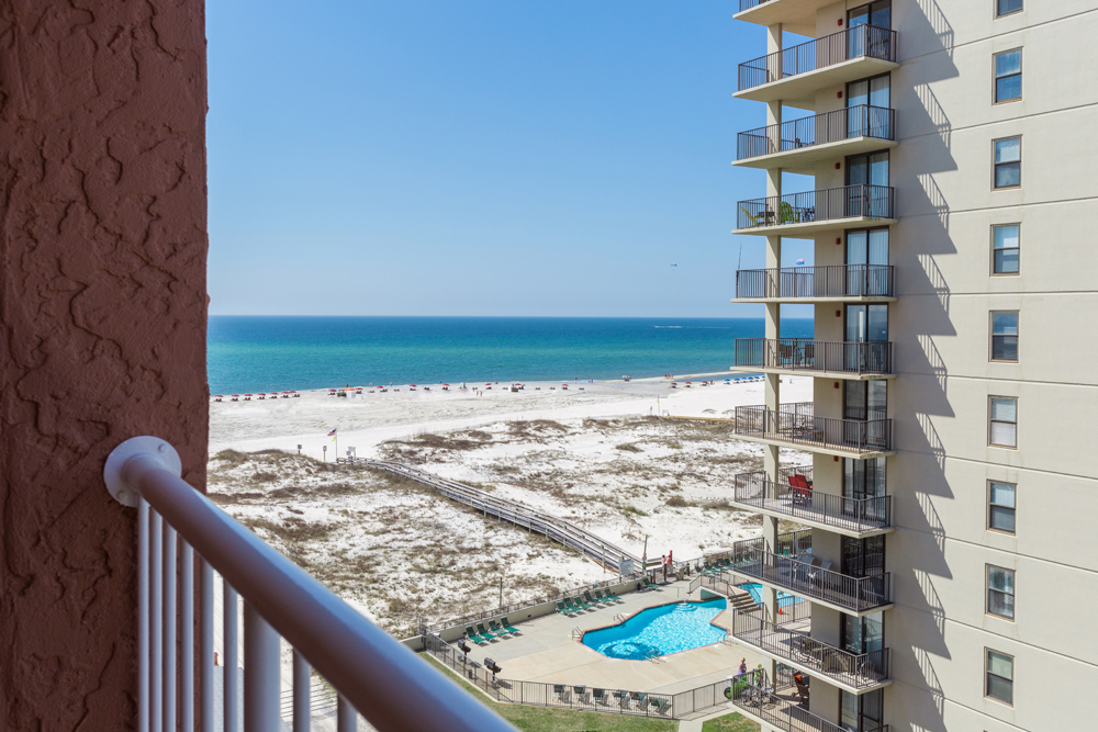 Perdido Beach Angle View Room featuring balcony view of the beach