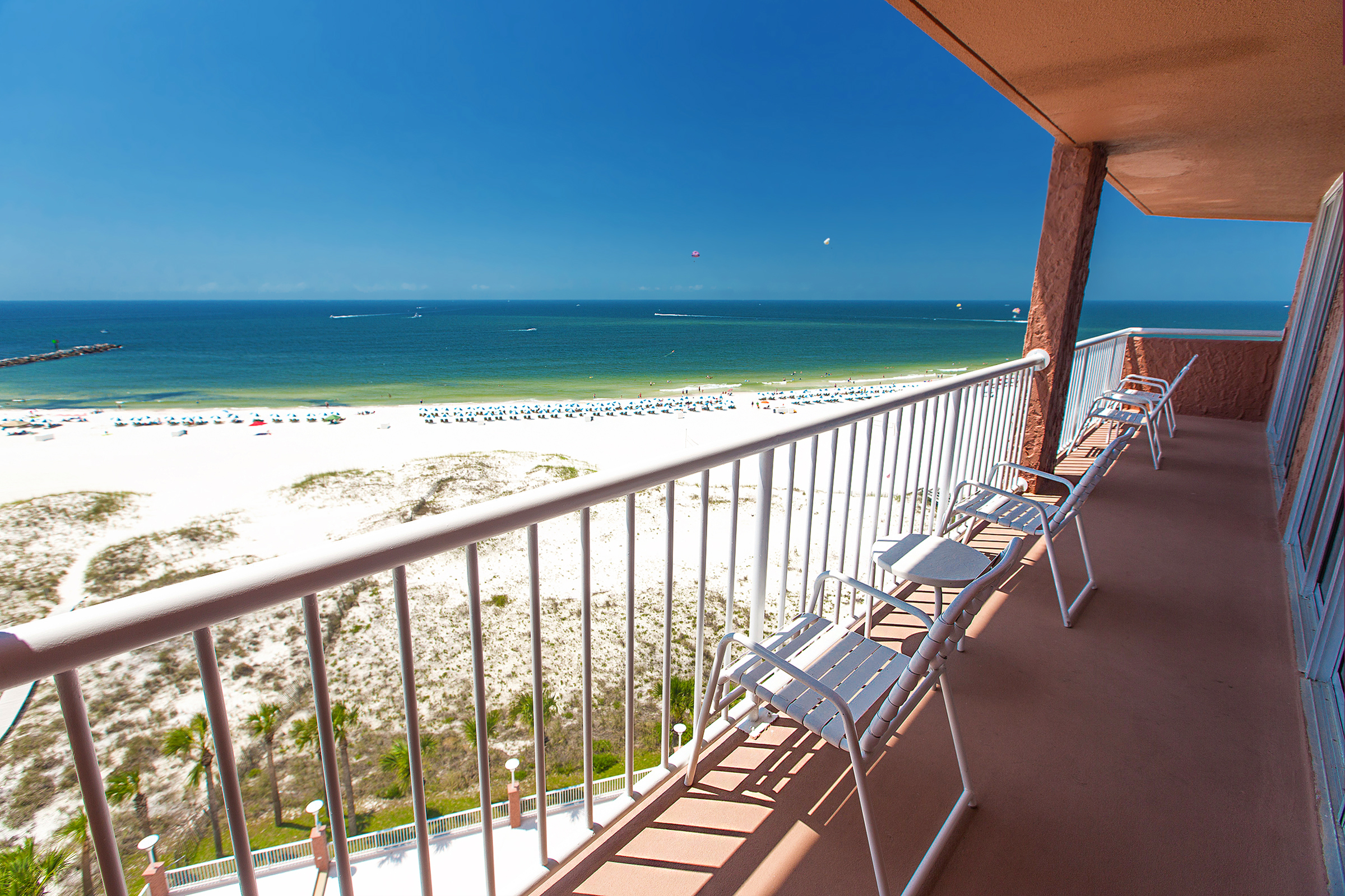 Perdido Beach Executive Suite featuring a great balcony view