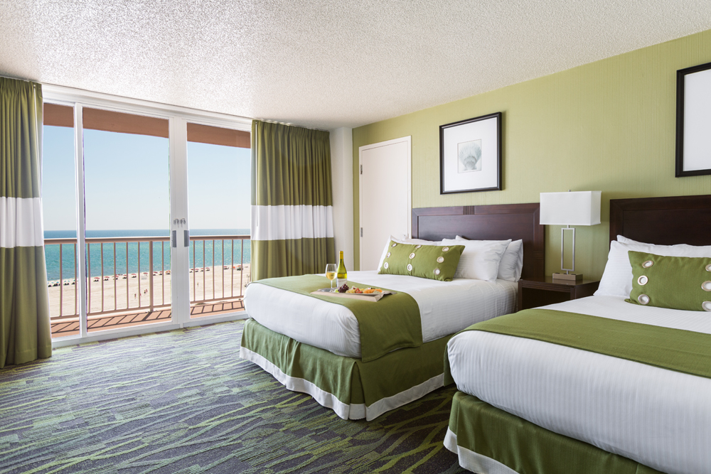 Perdido Beach Gulf View Room featuring two Queen beds