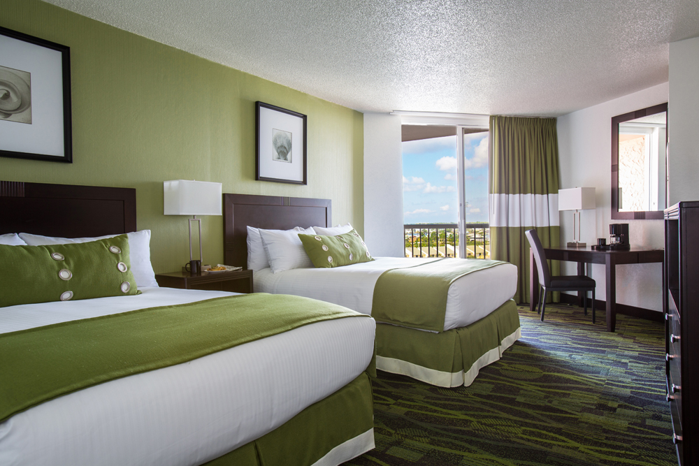 Perdido Beach Inland View Room featuring two Queen beds