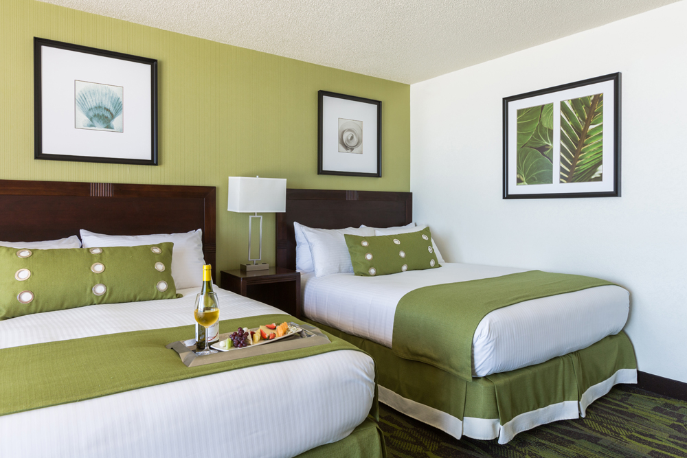 Perdido Beach Pool View Room featuring two Queen beds