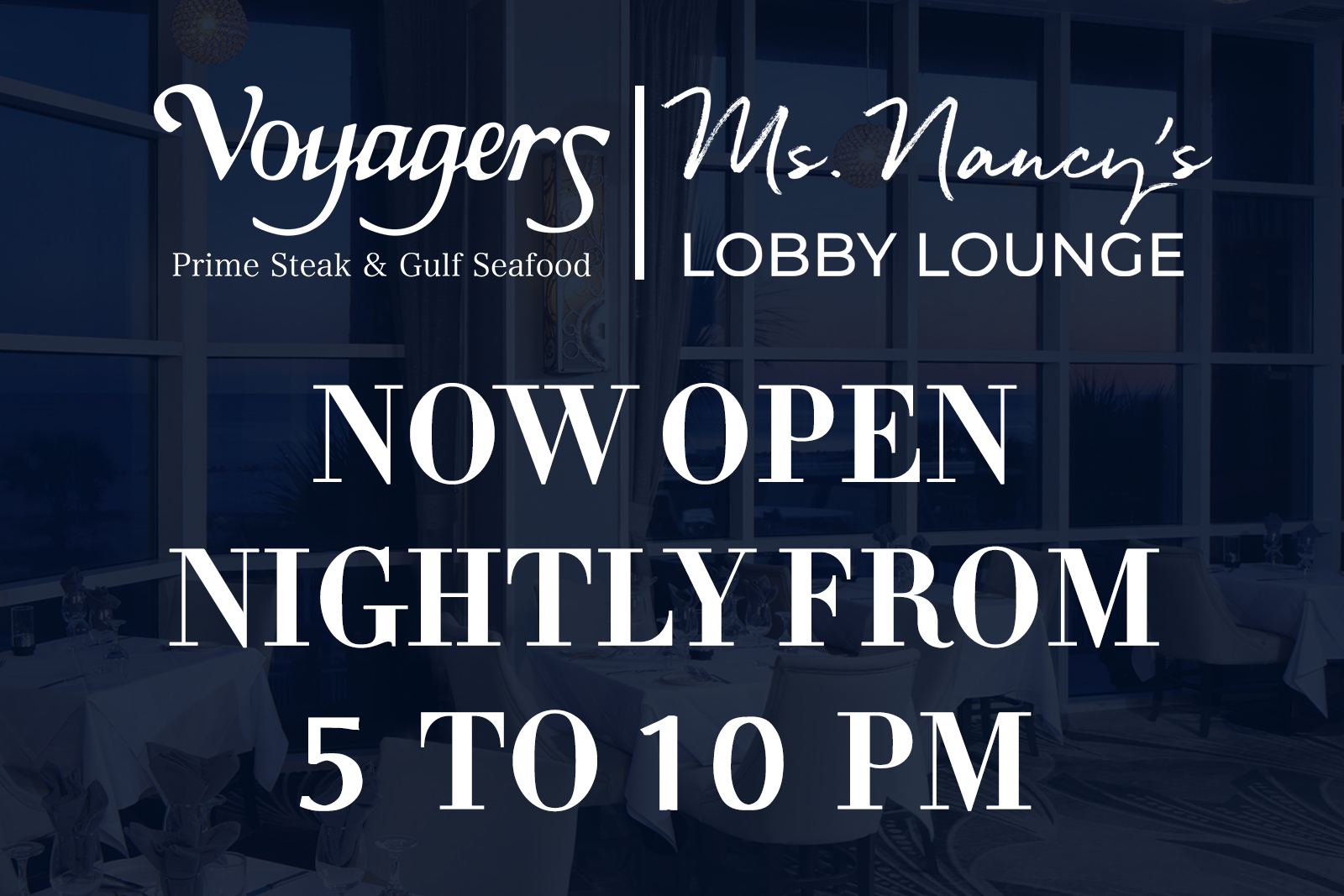 Voyagers reopening