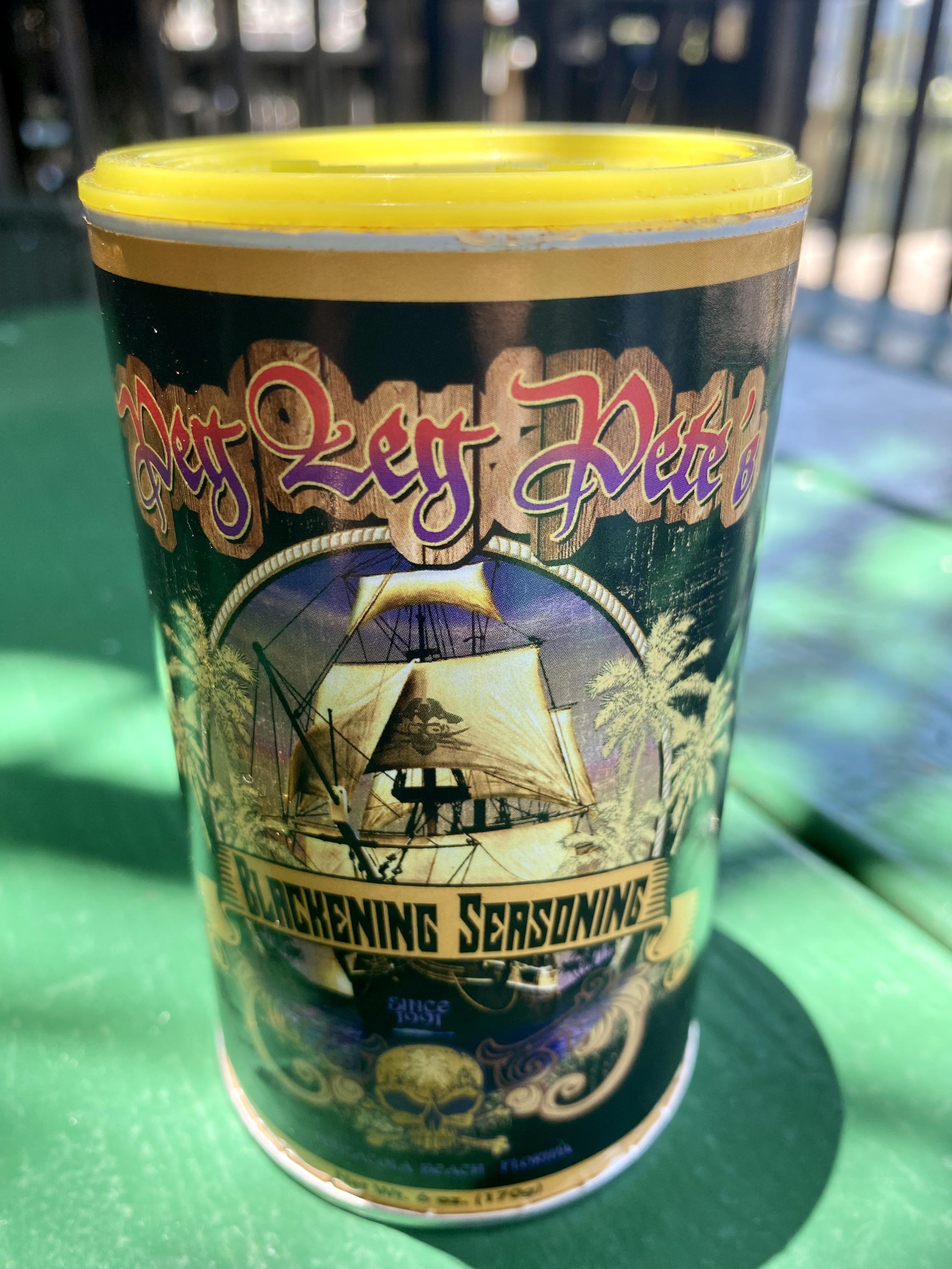 Peg Leg Pete's Blackening Seasoning