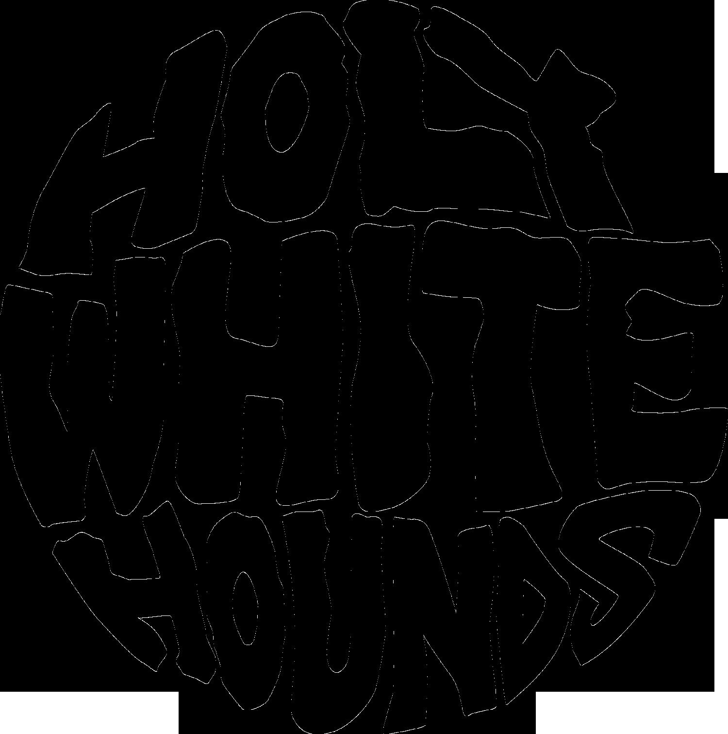 Holy White Hounds Logo