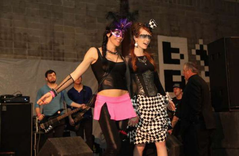 On the Art Party 10 Runway