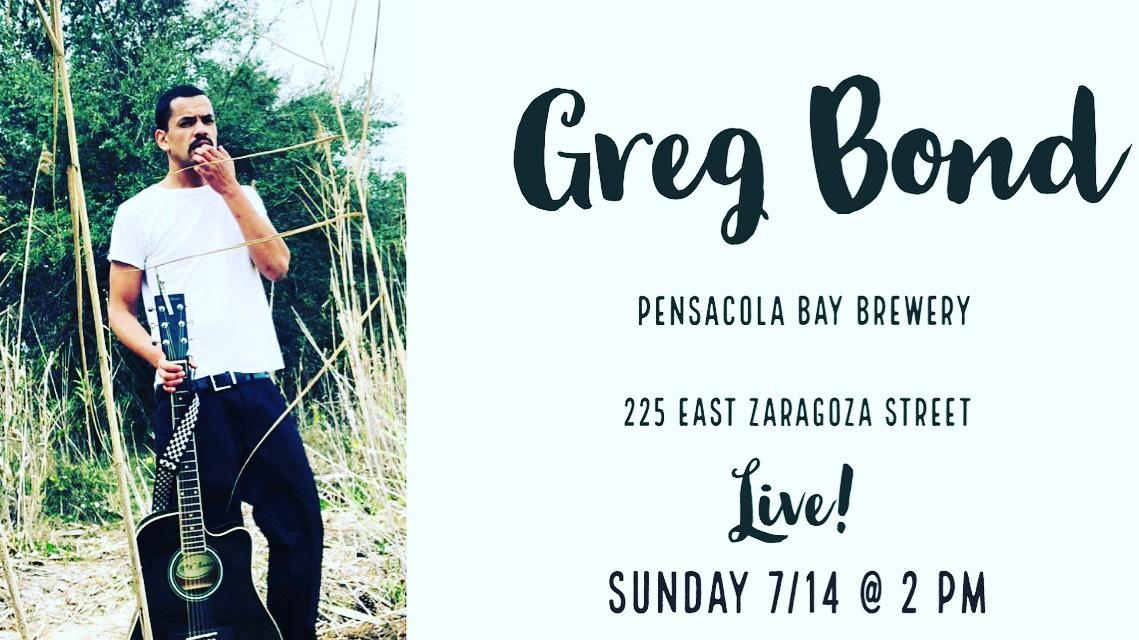 Greg Bond Live @ Pensacola Bay Brewery