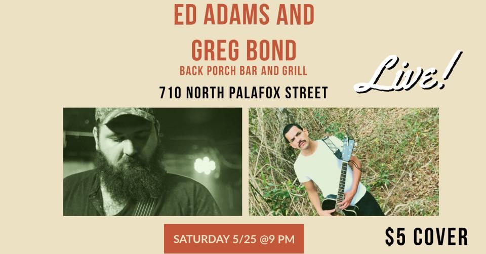 Greg Bond and Ed Adams Live!