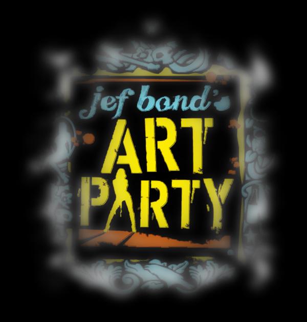 Art Party Logo - Jef Bond Sucks