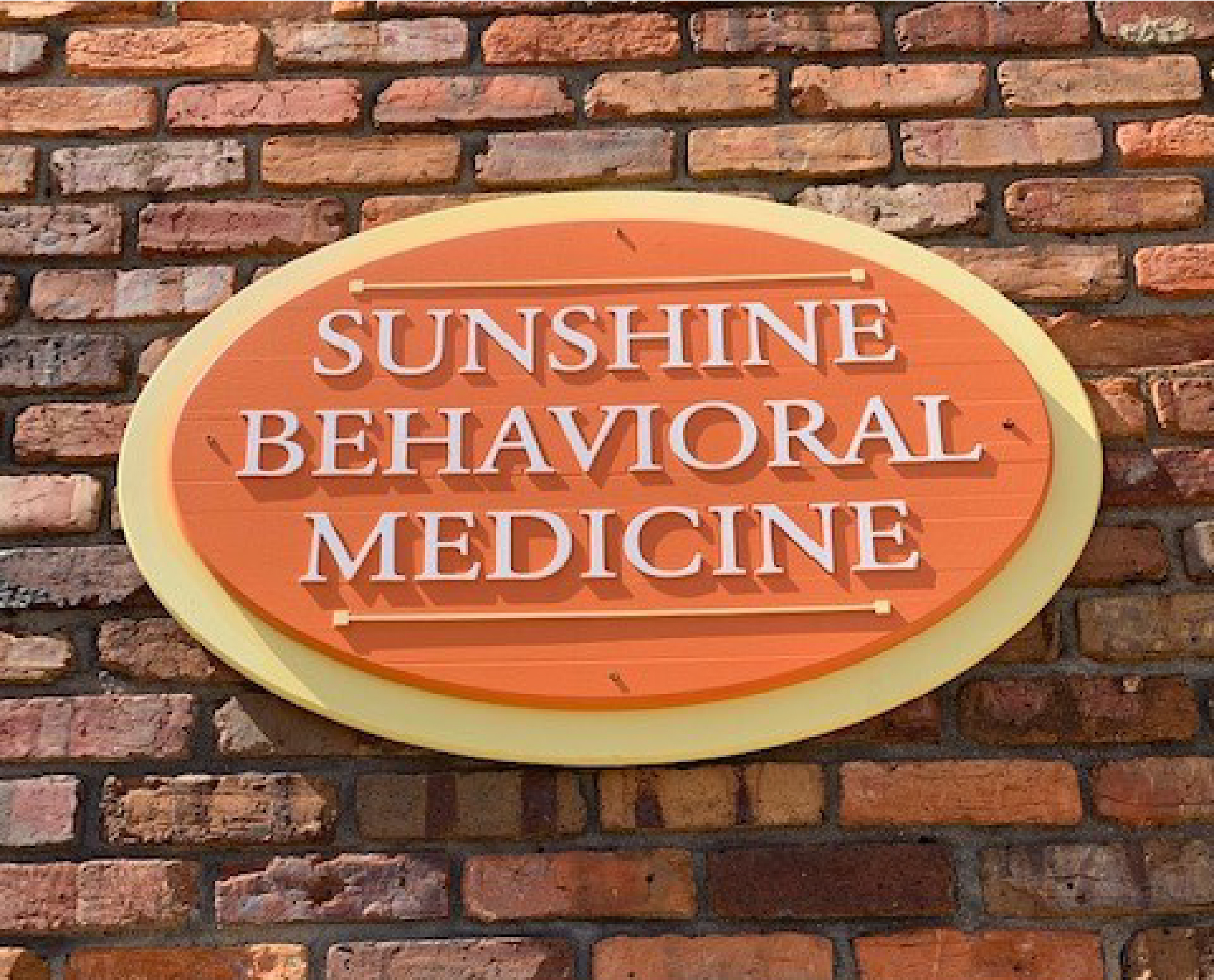 Sunshine Behavioral Medicine sign