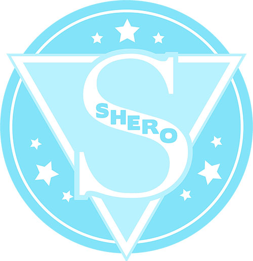 image of diamond colored SHERO logo