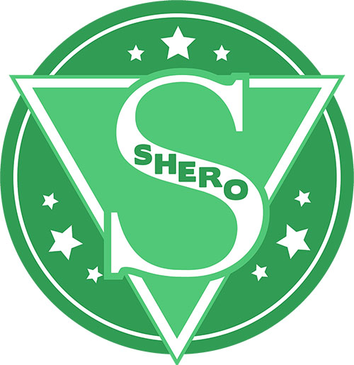 image of emerald SHERO logo