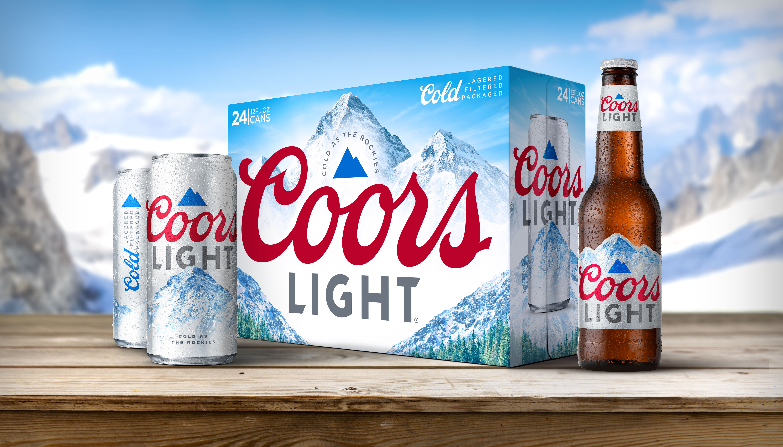 Coors Light Get's a New Look!