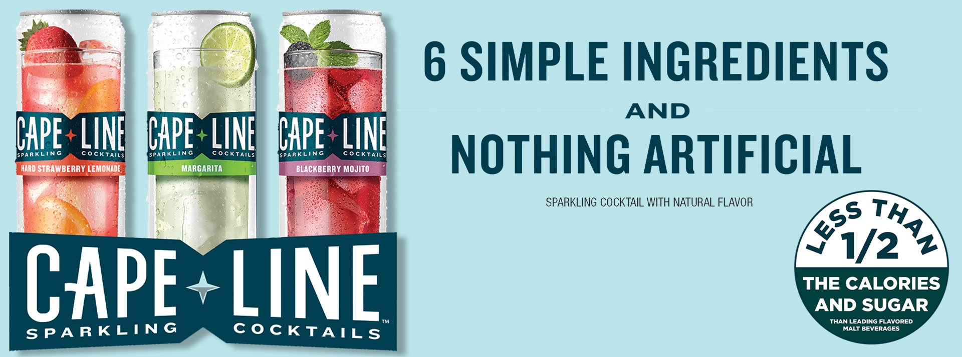 Cape Line Sparkling Cocktails