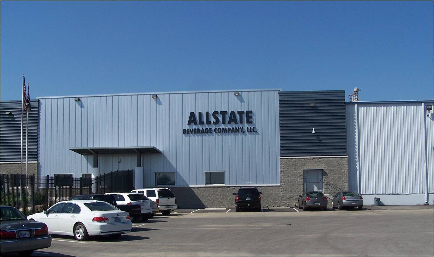 exterior of allstate beverage company