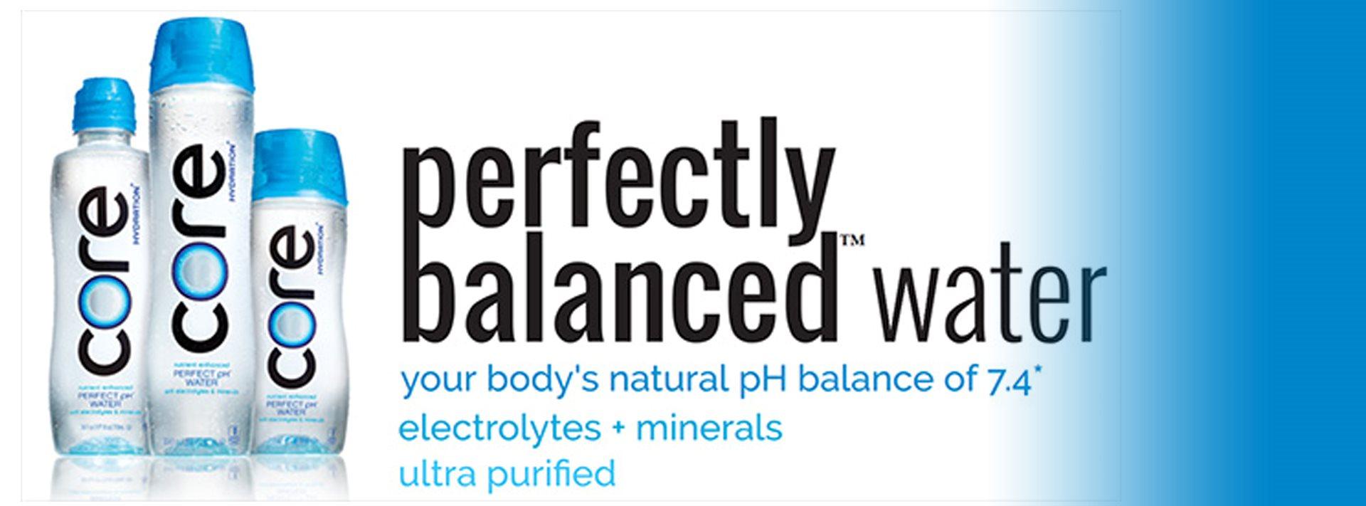 Perfectly Balanced Water