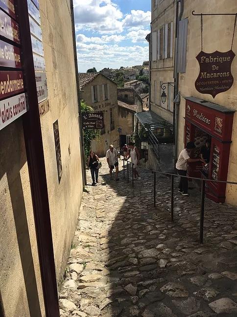 French Cobblestone street
