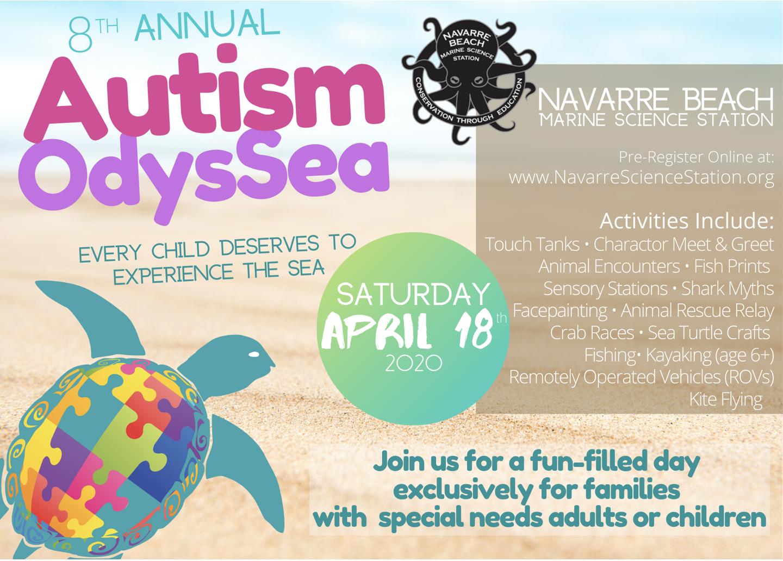 2020 Autism OdysSea flyer