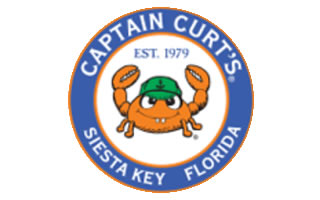 Captain Curt's Crab & Oyster Bar Logo