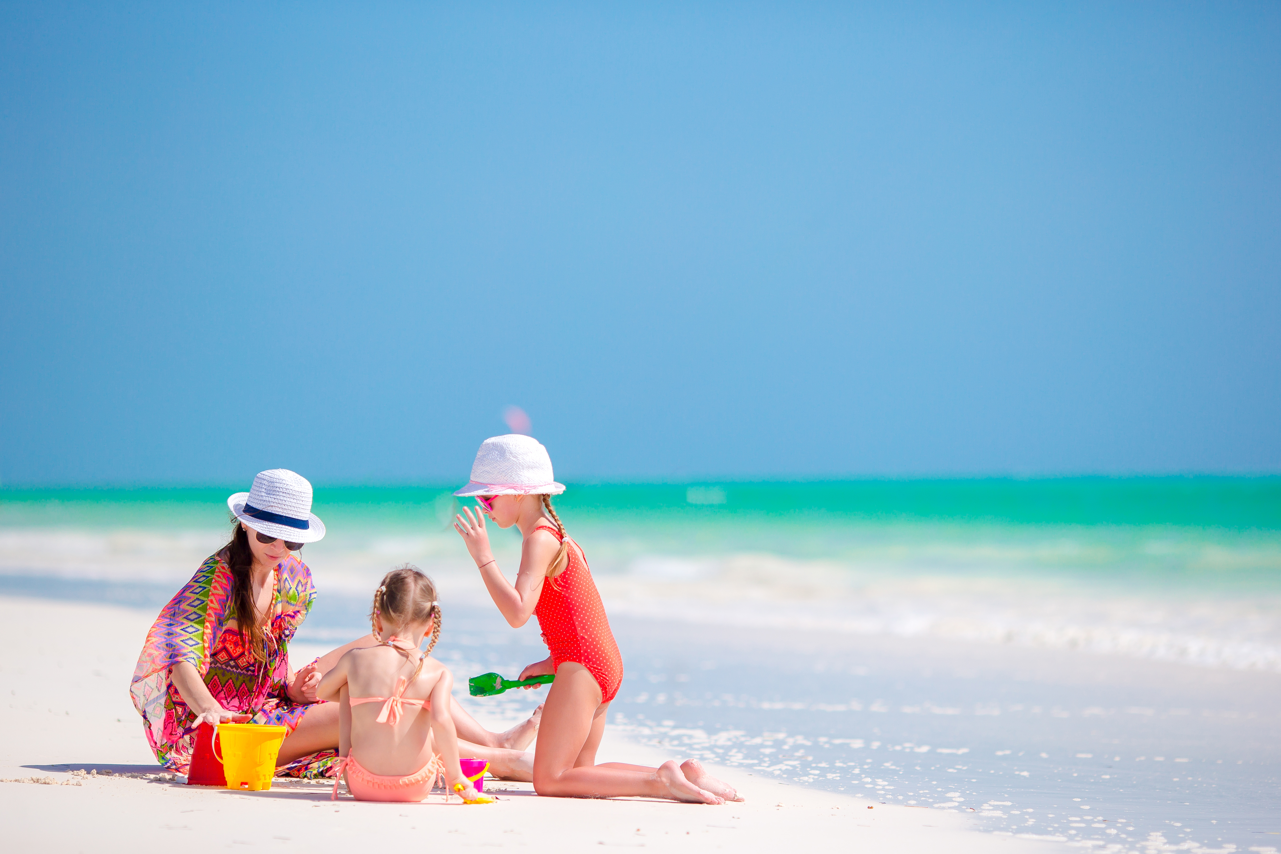 Tropical Coconut Drinks with a view of the sand at Siesta Key Beach