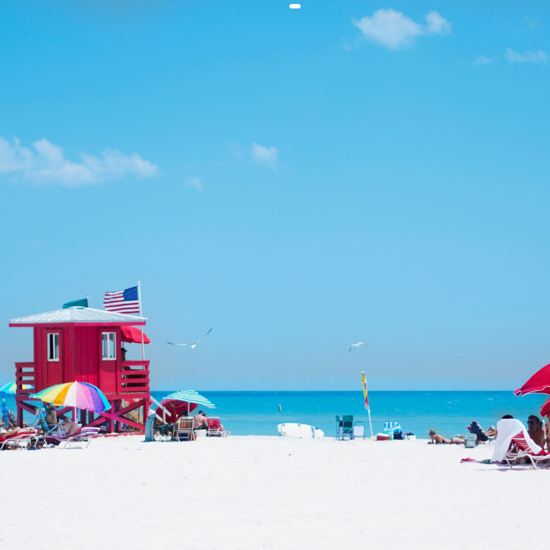 Siesta Key Beach view