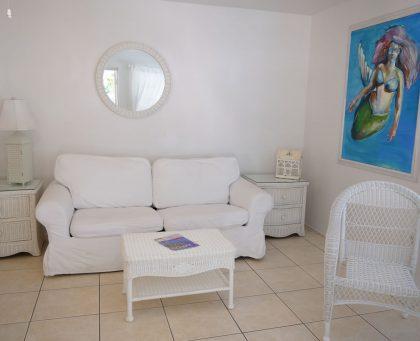 Mermaid Bungalow Living room