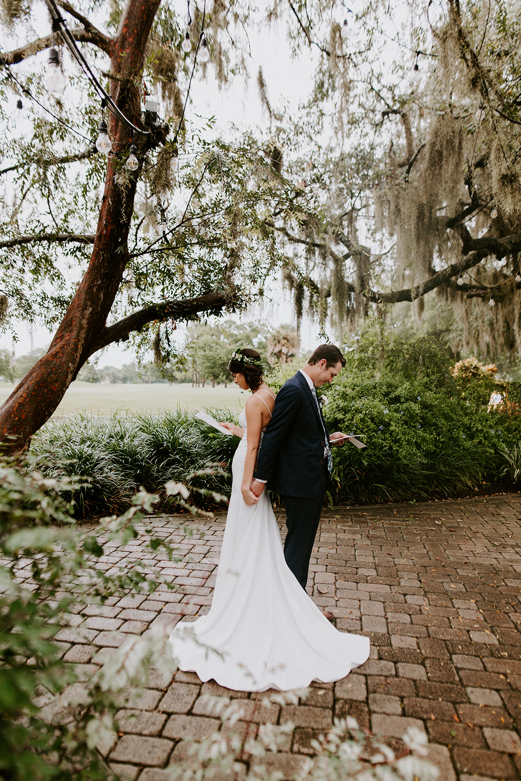 orlando wedding venue - dubsdread catering - couple first touch