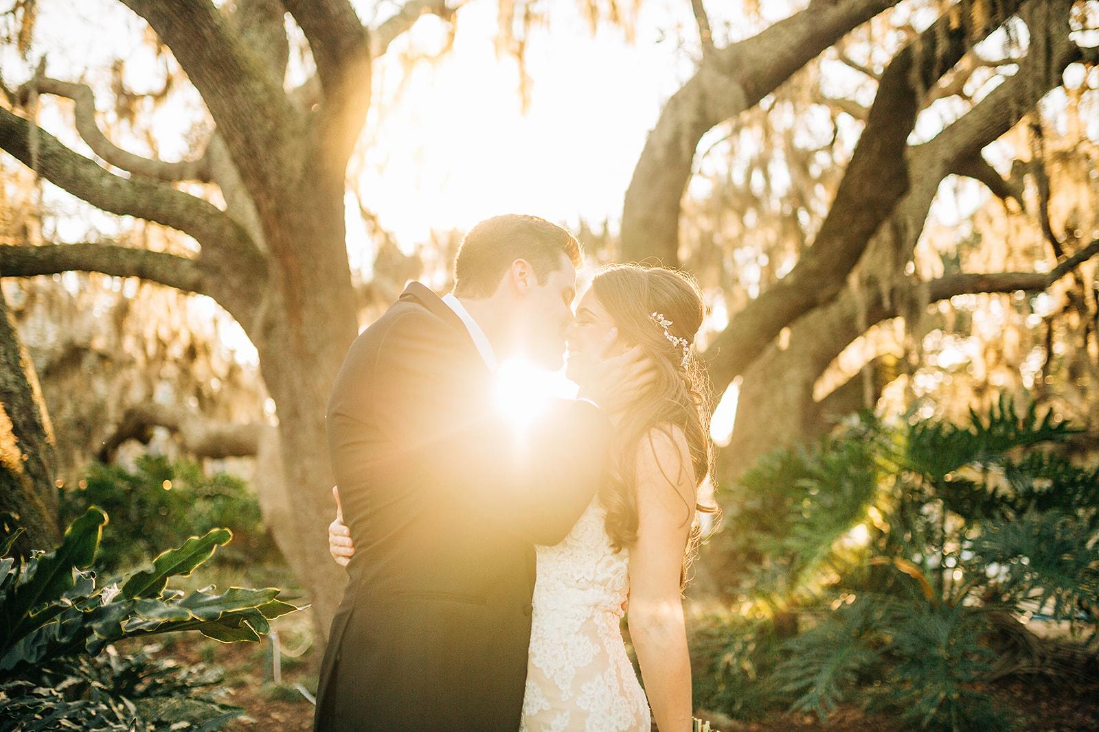 orlando wedding venue - dubsdread catering - couple sunlight