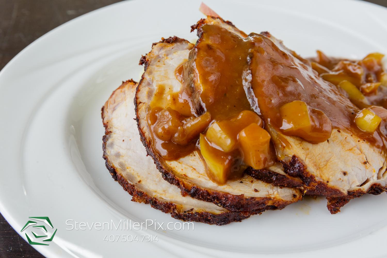 Pork Loin with Cinnamon Apple