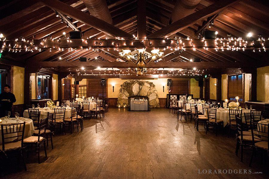 empty elegant ballroom