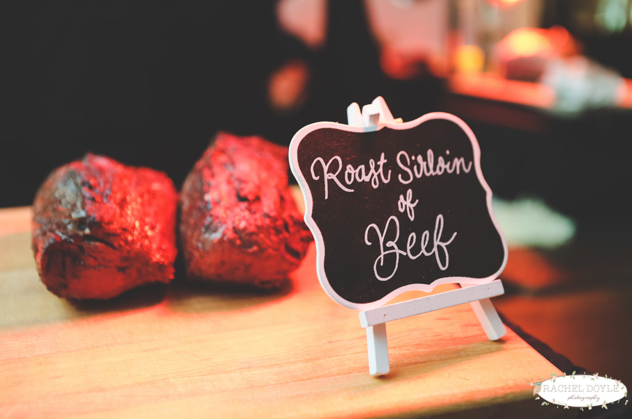 roasted sirloin of beef
