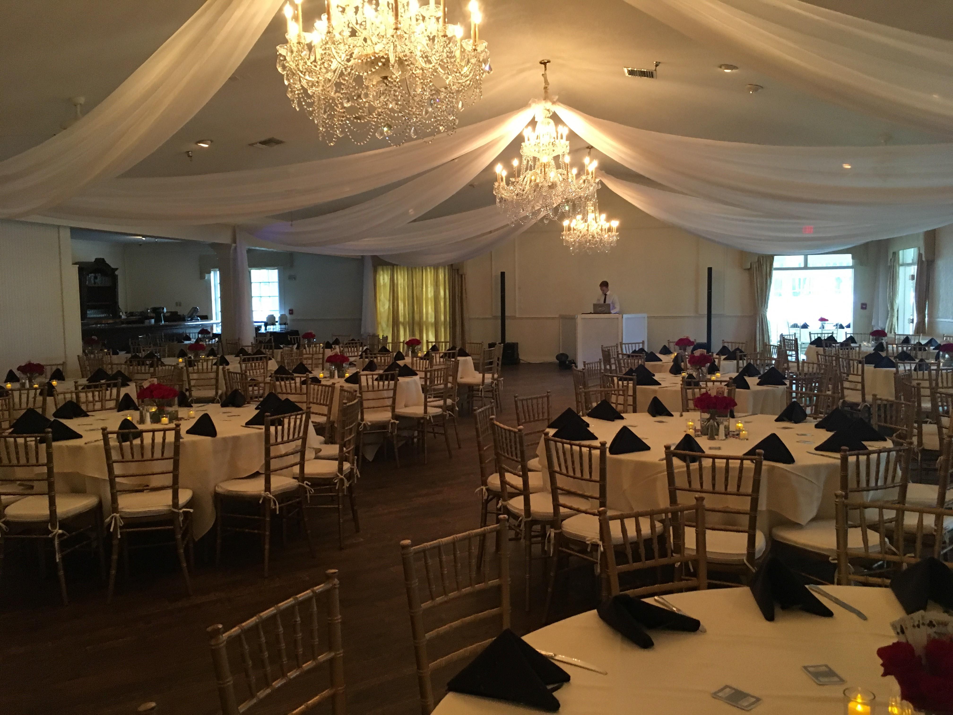 crystal ballroom layout