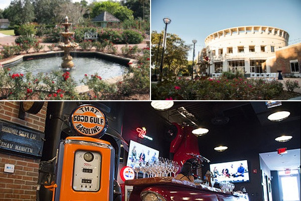 a collage of images from dubsdread venue partners