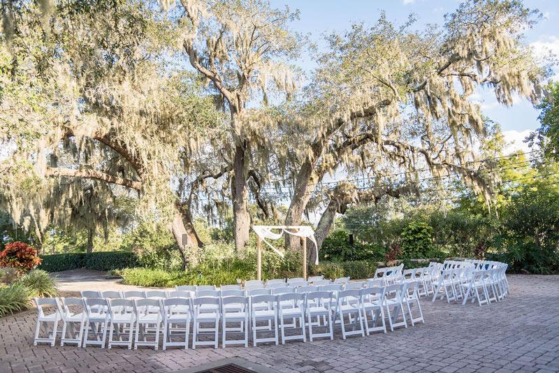 Orlando Outdoor Wedding Ceremony at Dubsdread