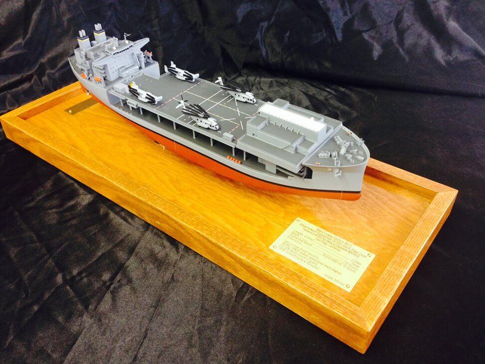 defense ship model