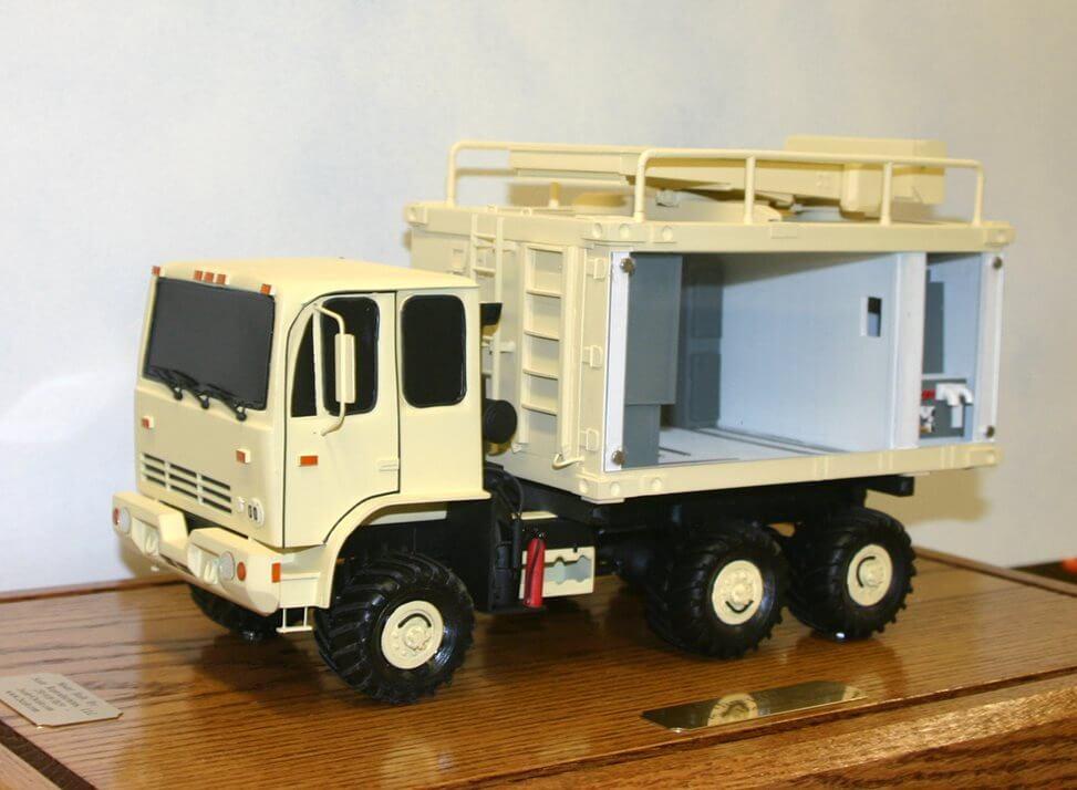 defense vehicle model