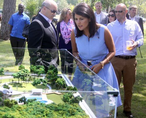 Crescent Communites with Governor Nikki Haley