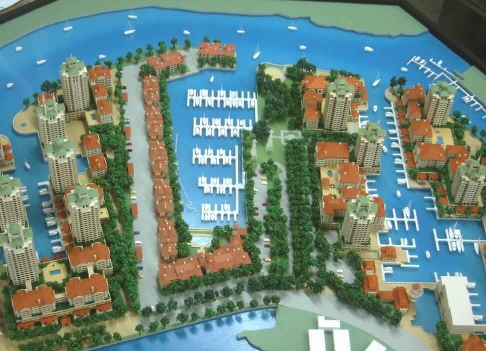 Marina Village Model