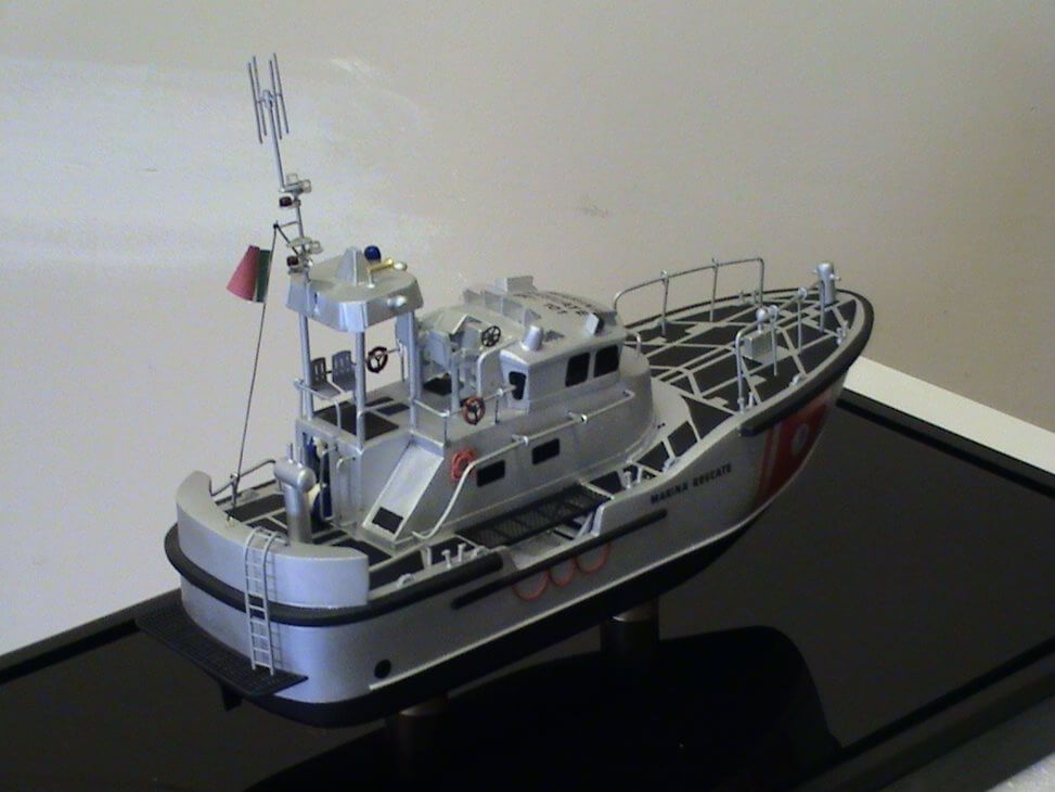 47 FT Motor Life Boat Model