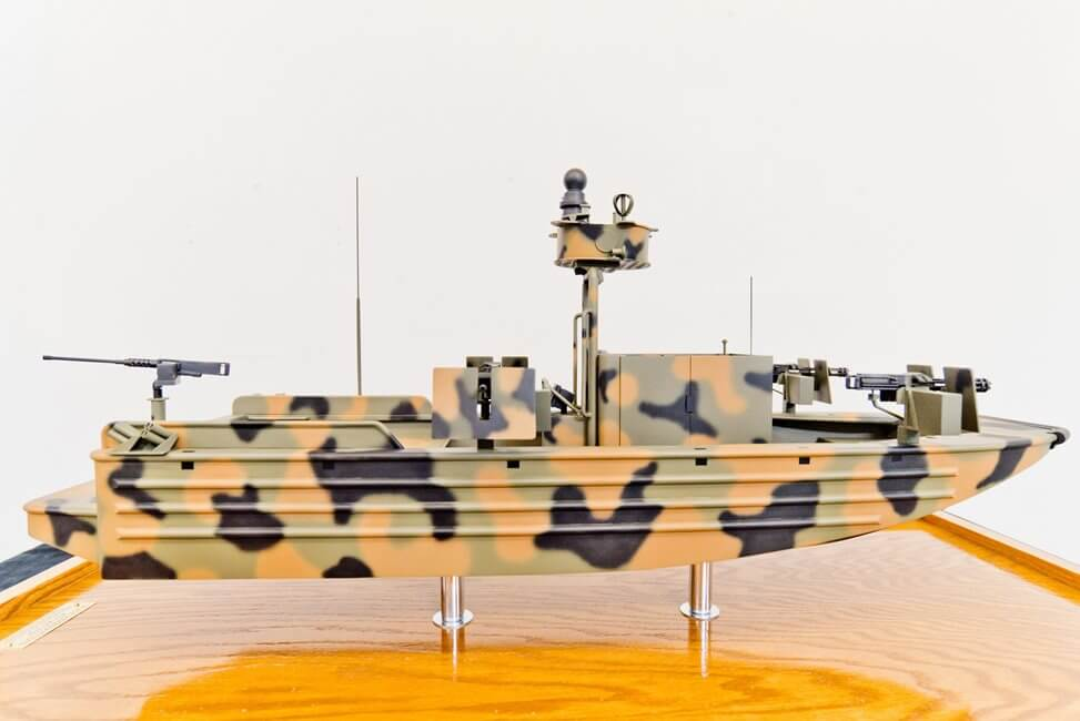 defense boat model