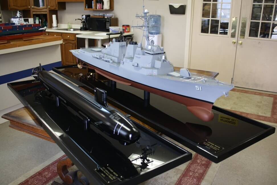 defense ship model