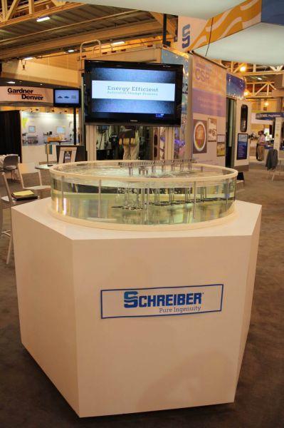 Customer: Schreiber, Tradeshow: Weftec