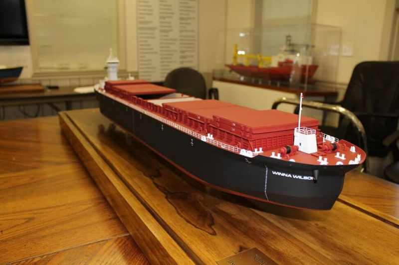 Inland workboat model