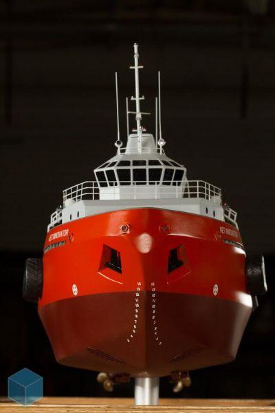AET Innovator workboat model